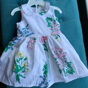 Carters floral sleeveless dress